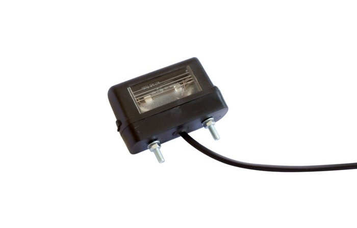 Registration plate light for trailers Aspöck 12V DC/0,8m